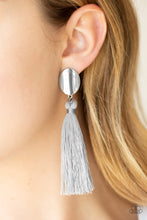 Load image into Gallery viewer, Paparazzi Jewelry Earrings Va Va PLUME - Silver