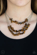 Load image into Gallery viewer, Paparazzi Jewelry Necklace Eco Goddess - Brown