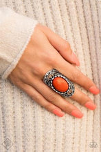 Load image into Gallery viewer, Paparazzi Jewelry Ring Drama Dream Orange