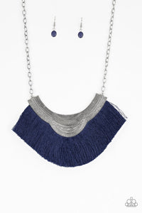 Paparazzi Jewelry Necklace My PHARAOH Lady - Blue