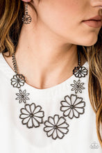 Load image into Gallery viewer, Paparazzi Jewelry Necklace Blooming With Beauty - Black