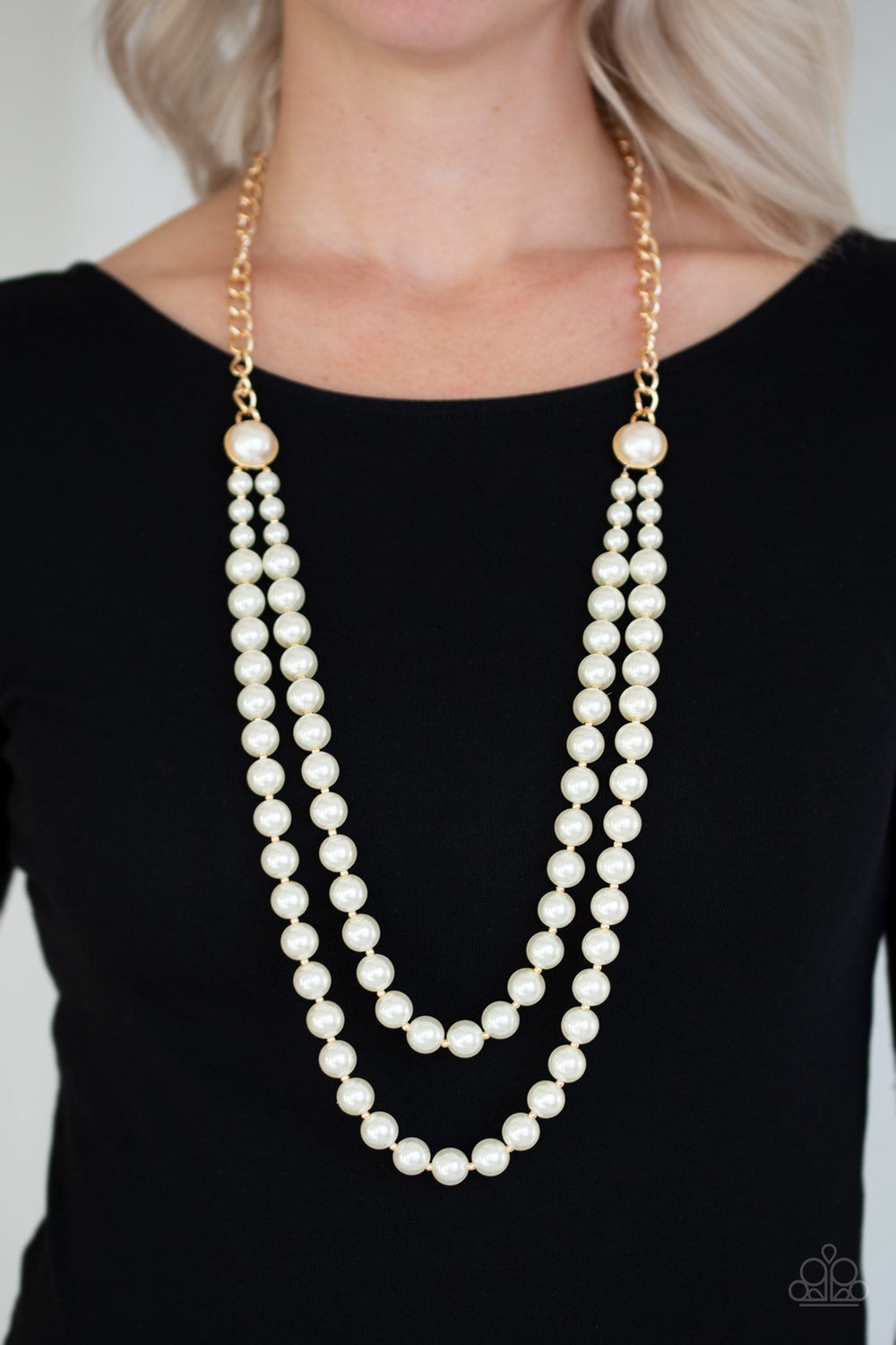 Paparazzi Jewelry Necklace Endless Elegance - Gold