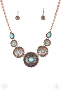 Paparazzi Jewelry Necklace Mayan Marvel Copper