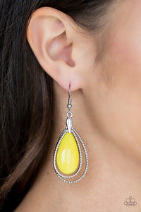 Paparazzi Jewelry Earrings Spring Splendor - Yellow