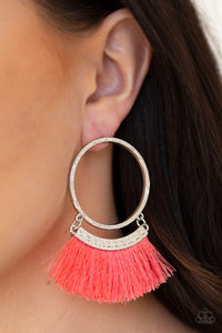 Paparazzi Jewelry Earrings This is Sparta Orange