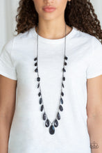Load image into Gallery viewer, Paparazzi Jewelry Necklace GLOW And Steady Wins The Race - Black