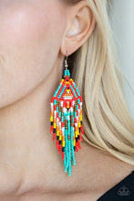Load image into Gallery viewer, Paparazzi Jewelry Earrings Boho Blast - Blue