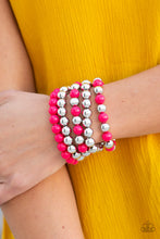 Load image into Gallery viewer, Paparazzi Jewelry Bracelet Pop-YOU-lar Culture - Pink