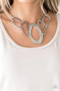 Paparazzi Jewelry Necklace Prime Prowess - Silver