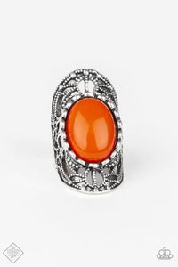 Paparazzi Jewelry Ring Drama Dream Orange