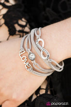 Load image into Gallery viewer, Paparazzi Jewelry Bracelet Infinitely Irresistible - Silver