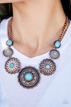 Load image into Gallery viewer, Paparazzi Jewelry Necklace Mayan Marvel Copper