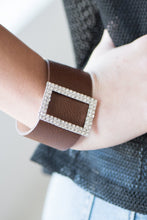 Load image into Gallery viewer, Paparazzi Jewelry Bracelet STUNNING For You - Brown