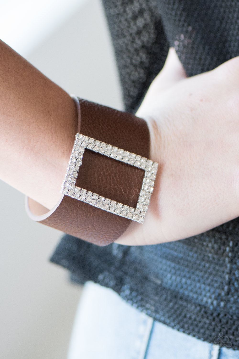 Paparazzi Jewelry Bracelet STUNNING For You - Brown