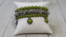 Load image into Gallery viewer, Paparazzi Jewelry Bracelet Good Vibes Only Green