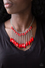 Load image into Gallery viewer, Paparazzi Jewelry Necklace Venturous Vibes - Red