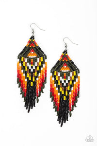 Paparazzi Jewelry Earrings Boho Blast - Green