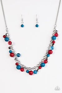 Paparazzi Jewelry Necklace wander with wonder multi