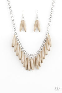 Paparazzi Jewelry Necklace Full Of Flavor - Brown