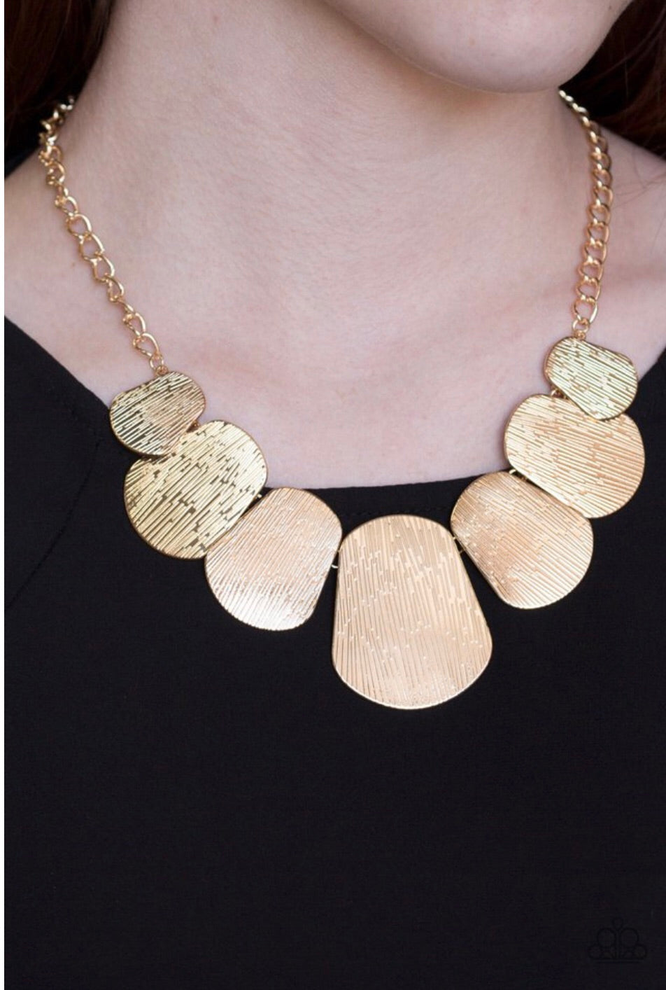 Paparazzi Jewelry Necklace  CAVE The Day - Gold
