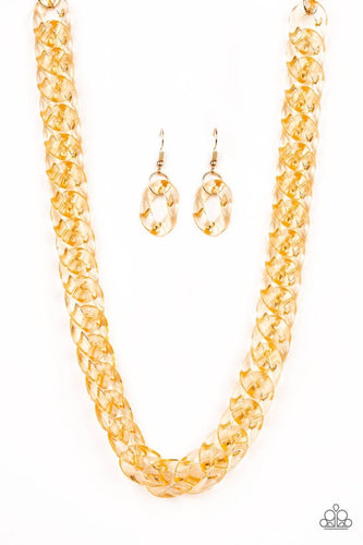 Paparazzi Jewelry Life Of The Party Put It On Ice - Gold