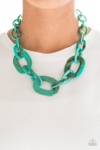 Paparazzi Jewelry Necklaces All In-VINCIBLE - Blue