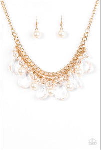 Paparazzi Jewelry Necklace Twinkly Typhoon - Gold