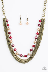 Paparazzi Jewelry Necklace Fierce Fashion - Multi