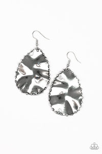 Paparazzi Earrings Necklace Trail Ware - Silver