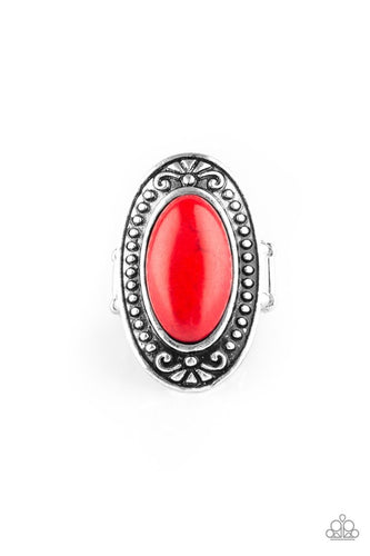 Paparazzi Jewelry Ring Mesa Meadows Red