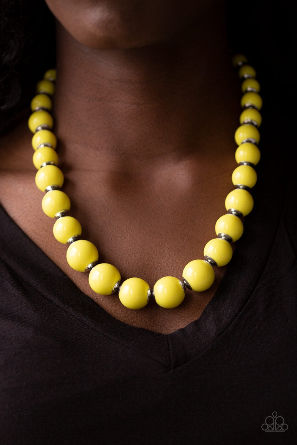 Paparazzi Jewelry Sets Everyday Eye Candy/Candy Shop Sweetheart - Yellow