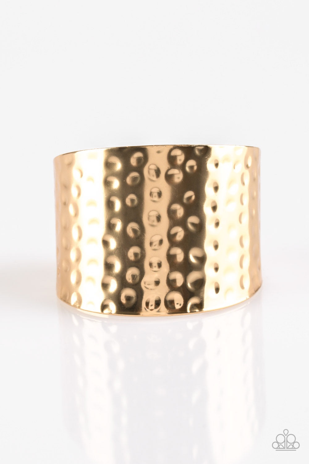 Paparazzi Jewelry Bracelet Wonderfully Wonder Women Gold