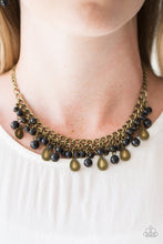 Load image into Gallery viewer, Paparazzi Jewelry Necklace PRIMAL Donna - Brass