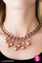 Load image into Gallery viewer, Paparazzi Jewelry Necklace Classic Girl - Copper