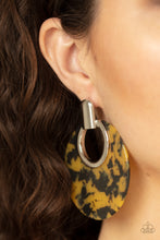 Load image into Gallery viewer, Paparazzi Jewelry Earrings Metro Zoo - Yellow