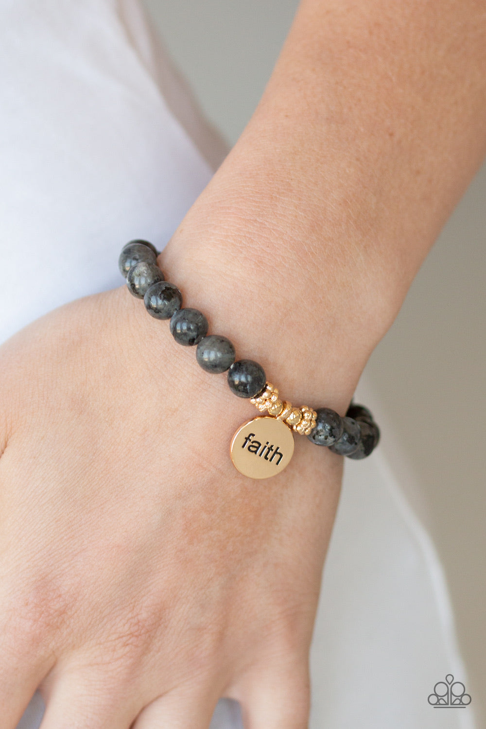 Paparazzi Jewelry Bracelet FAITH It, Till You Make It - Black