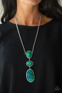 Paparazzi Jewelry Necklace Making an Impact - Green