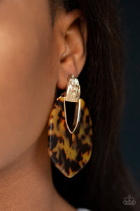 Paparazzi Jewelry Earrings My Animal Spirit - Gold