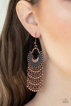 Load image into Gallery viewer, Paparazzi Jewelry Earrings Catching Dreams - Copper