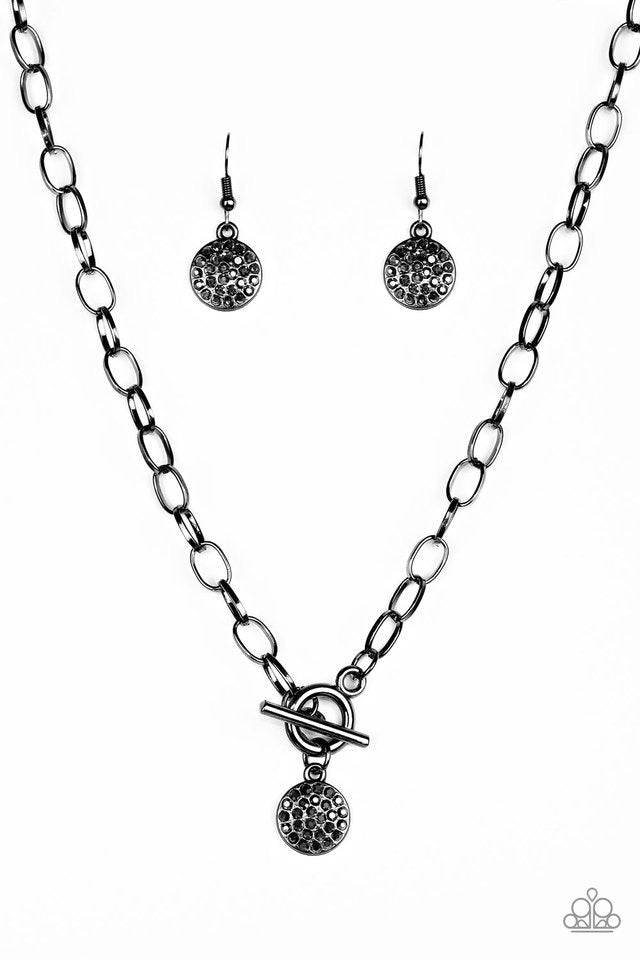 Paparazzi Jewelry Necklace Sorority Sisters - Black