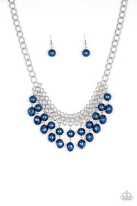 Paparazzi Jewelry Necklace 5th Avenue Fleek - Blue