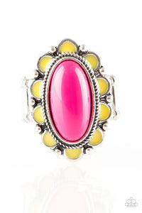 Paparazzi Jewelry Ring Beach Bloom -Pink