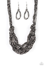 Load image into Gallery viewer, Paparazzi Jewelry Necklace City Catwalk - Black