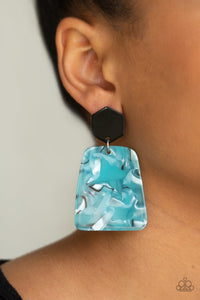 Paparazzi Jewelry Earrings Majestic Mariner - Blue