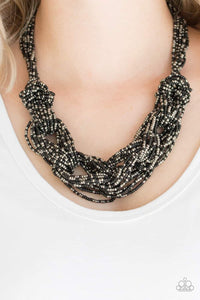 Paparazzi Jewelry Necklace City Catwalk - Black