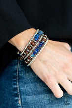 Load image into Gallery viewer, Paparazzi Jewelry Bracelet Soul Searchin - Blue