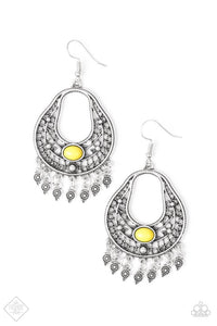 Paparazzi Jewelry Earrings Shoreside Social