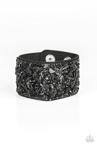 Paparazzi Jewelry Bracelet Crush Rush - Black
