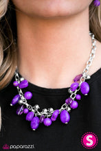 Load image into Gallery viewer, Paparazzi Jewelry Necklace Ocean Sunset - Purple