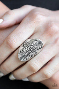 Paparazzi Jewelry Ring Shields Up - Silver